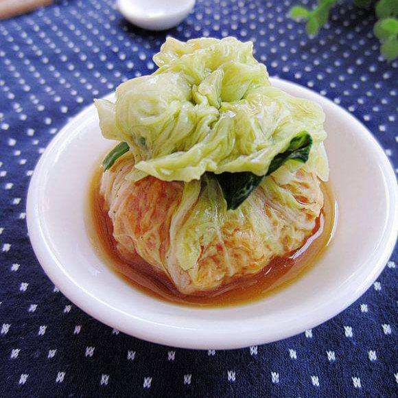 肉末白菜:N次混搭的菜肴