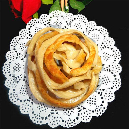 螺旋面条饼