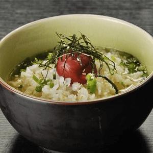 家常山葵柴鱼茶泡饭