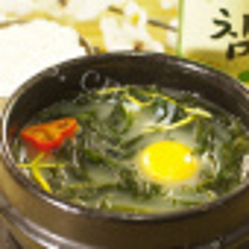 美食鸭肉海带汤