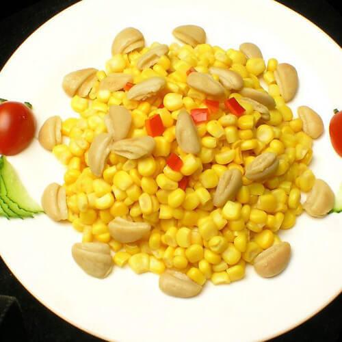 松软可口美味的玉米叉叉