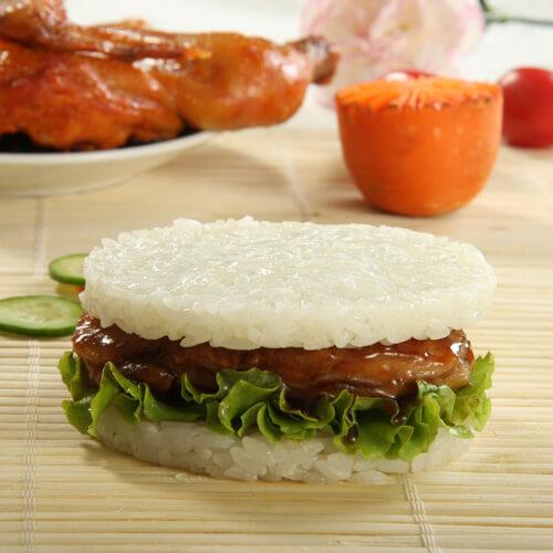 海苔米汉堡