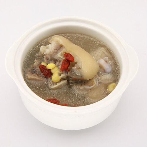 猪肉苦瓜黄豆汤