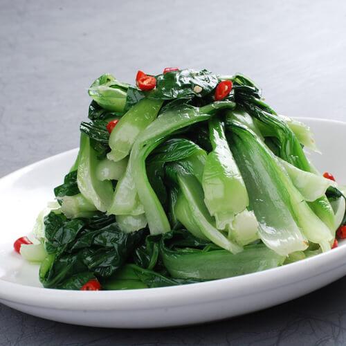 葱炒小白菜