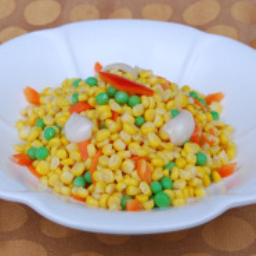 美味的甜玉米粒