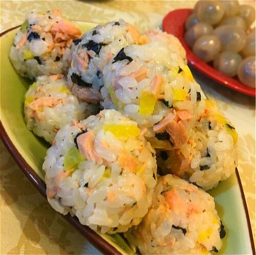 韩式泡菜饭团