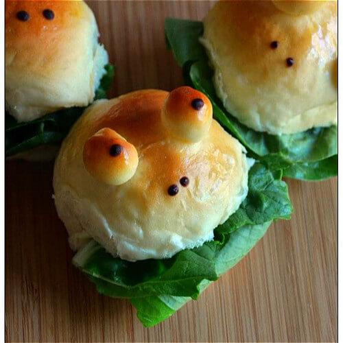 青蛙王子小面包