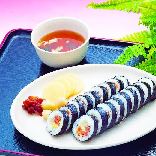番茄沙司紫菜包饭