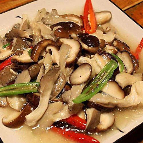 香菇时蔬炒肉