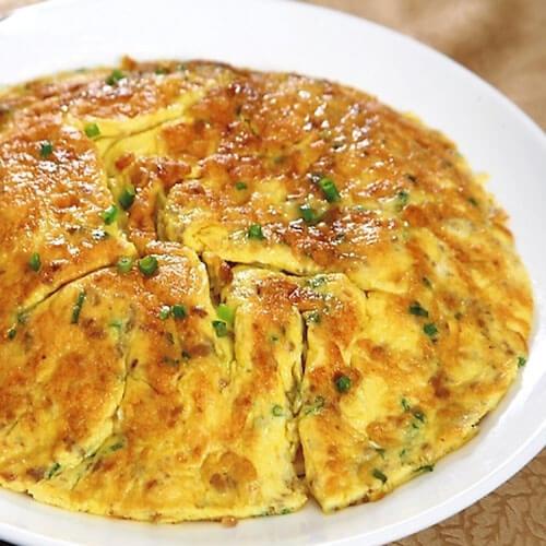 潮汕菜圃煎蛋