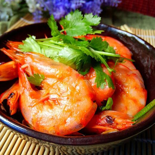 香浓番茄烩海虾