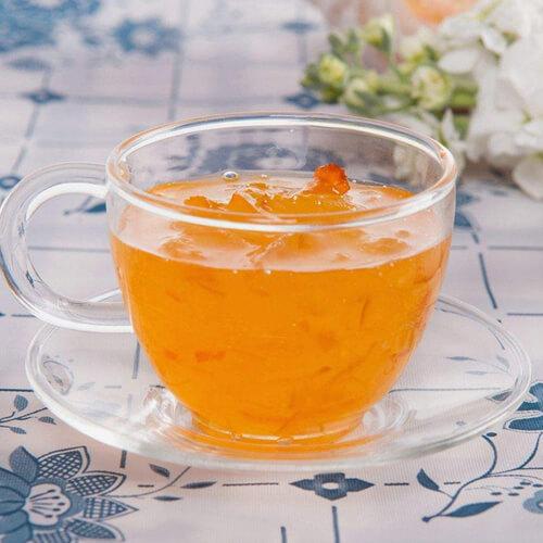 口感丰富的柚子茶