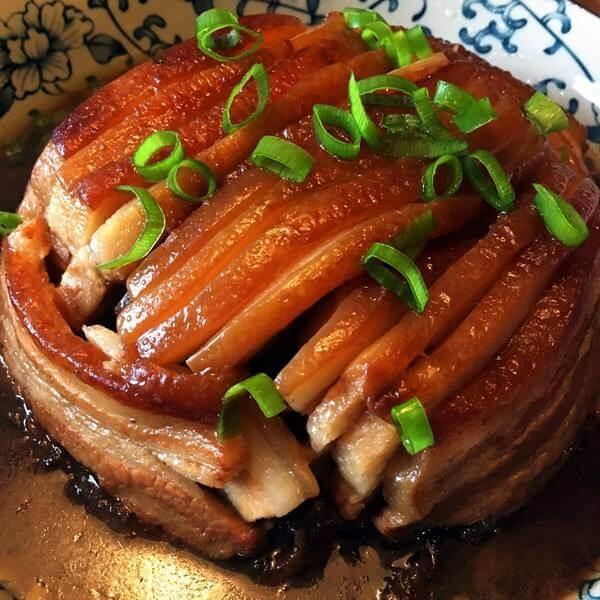 美味的电压力锅版梅菜扣肉