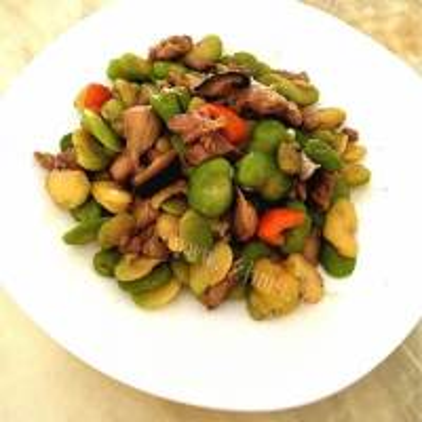 好吃的香炒蚕豆