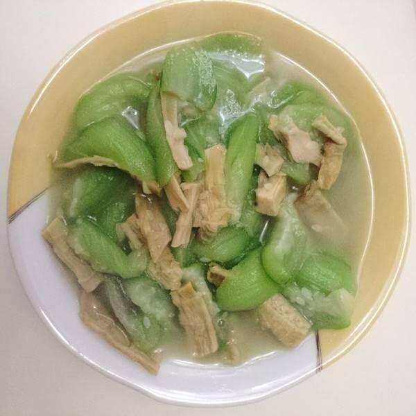 丝瓜羊肉汤