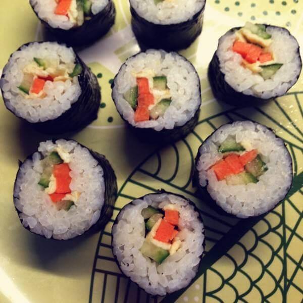 【手工美食】寿司