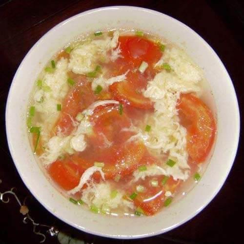 番茄香菇蛋汤