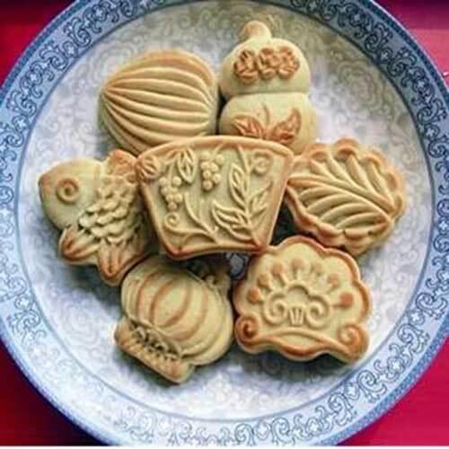 简单的烤箱版七巧果