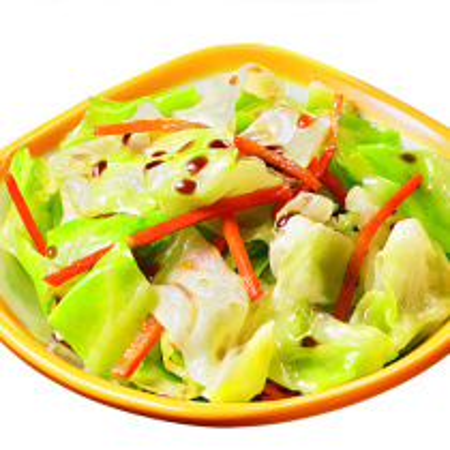白菜炒黑蘑