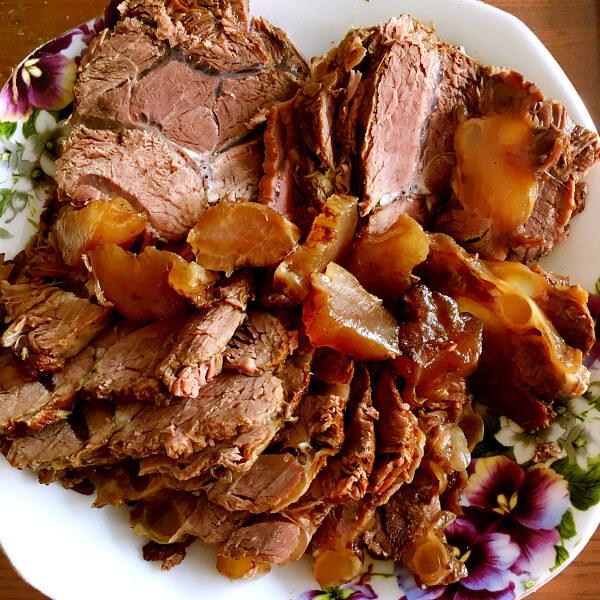 美味的私房卤牛肉