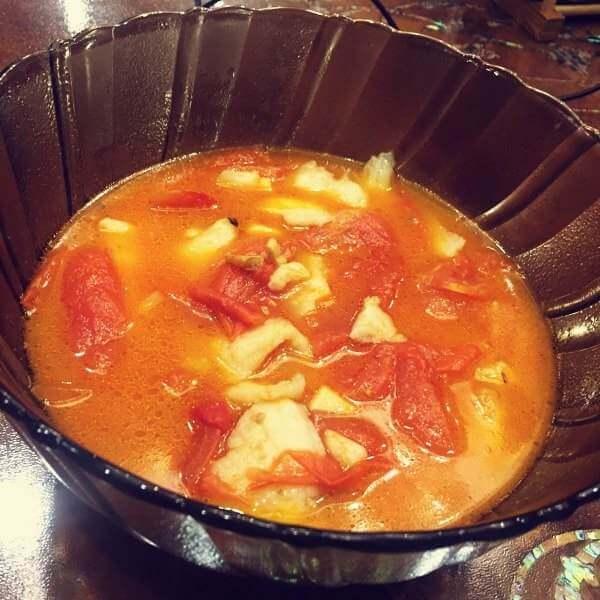私房番茄鱼汤