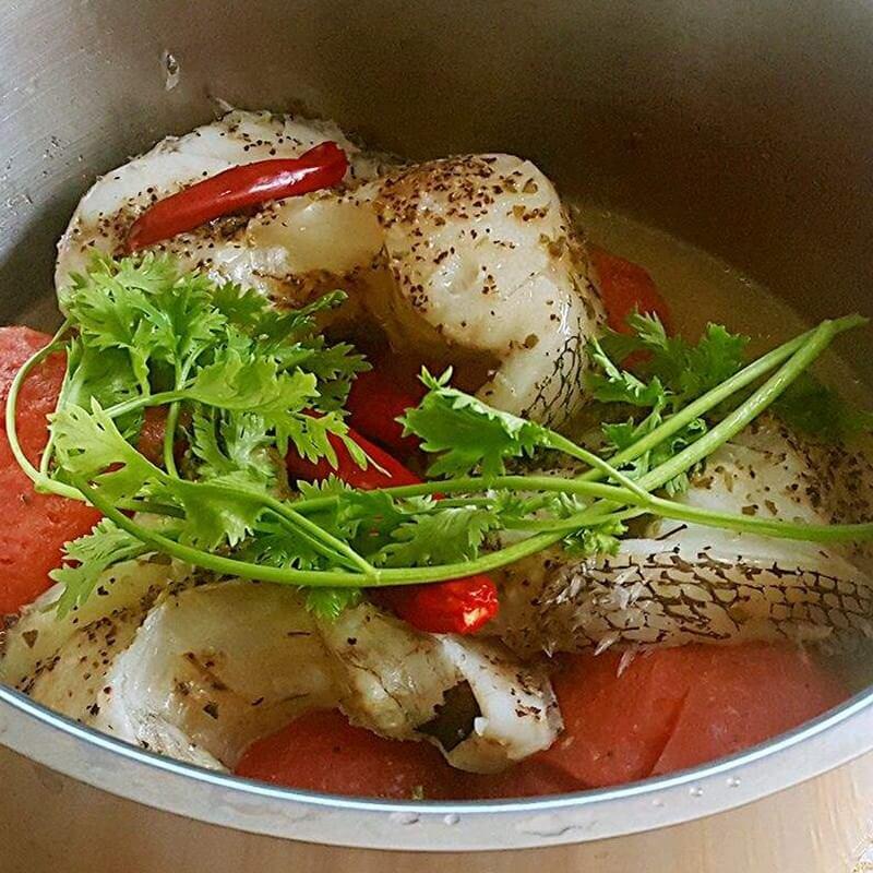 番茄银鳕鱼