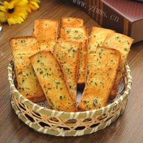 简单自制孜然面包片