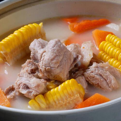 猪肉海带玉米汤