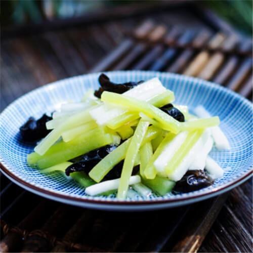 清炒莴苣山药