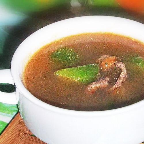 好喝的牛肉丝瓜汤