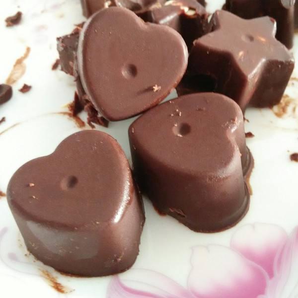 黑巧克力蜜豆坚果全麦