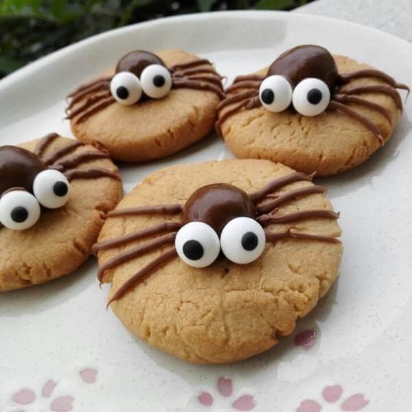 万圣节曲奇饼干