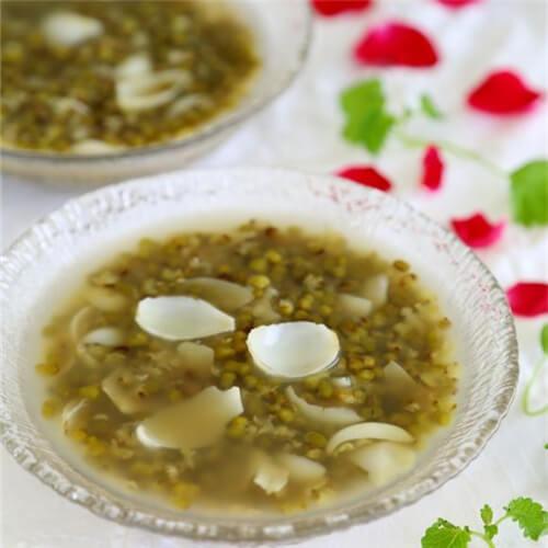 冰糖百合绿豆汤