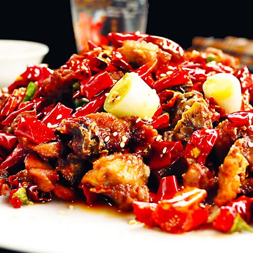 辣子鸡炒饭