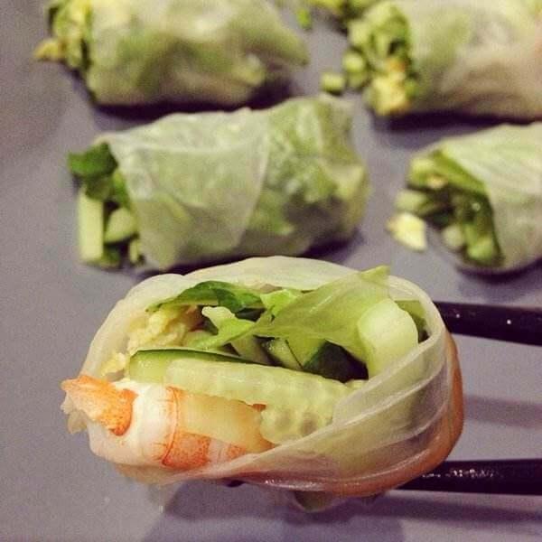 蔬菜粉皮卷
