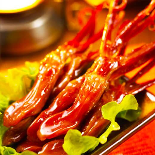 特别的章鱼卤肉