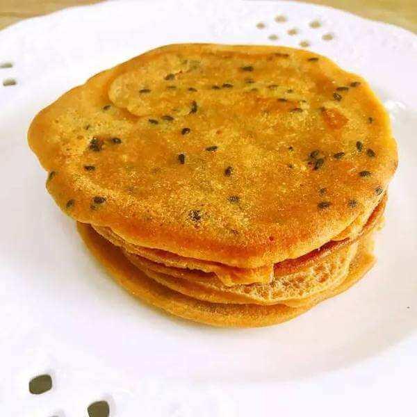 芝麻奶香饼