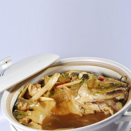 番茄豆腐荷花鱼