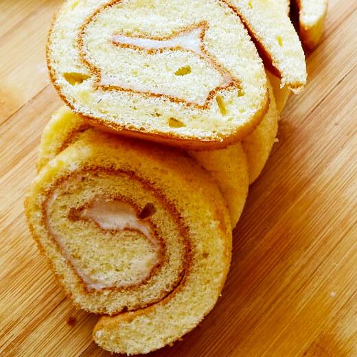 榴莲瑞士蛋糕卷