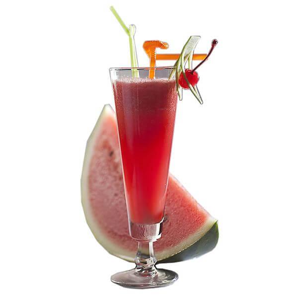 好喝的西瓜樱桃果汁