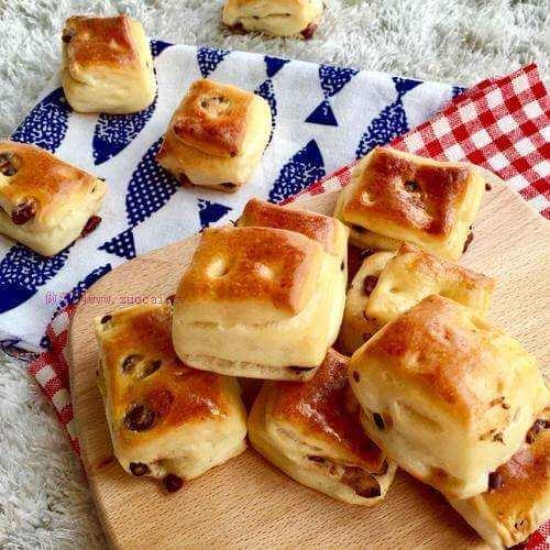 千岛香葱面包块