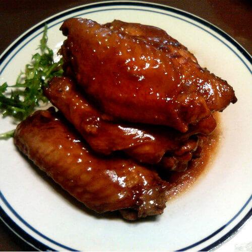 红枣烧鸡翅