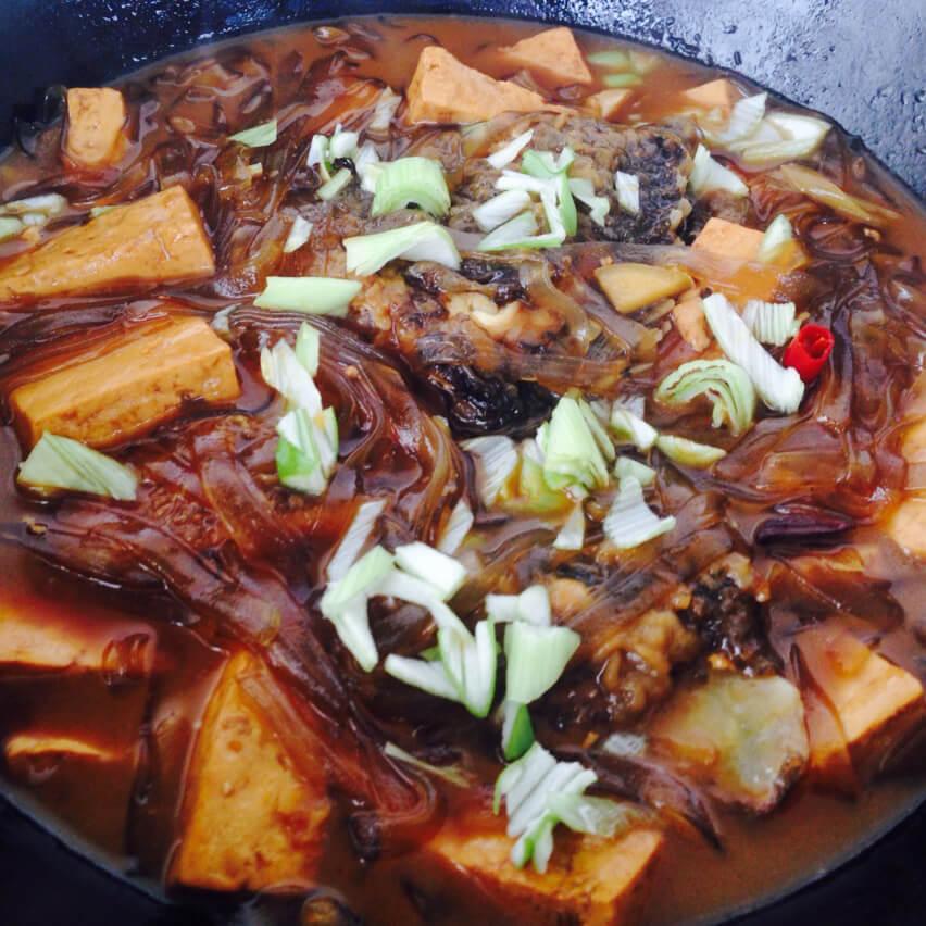 福寿鱼炖豆腐