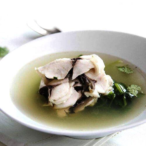 鲫鱼豆腐皮汤