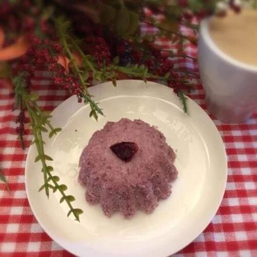 好吃的蔓越莓松糕