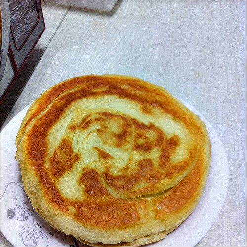 全麦豆面油饼