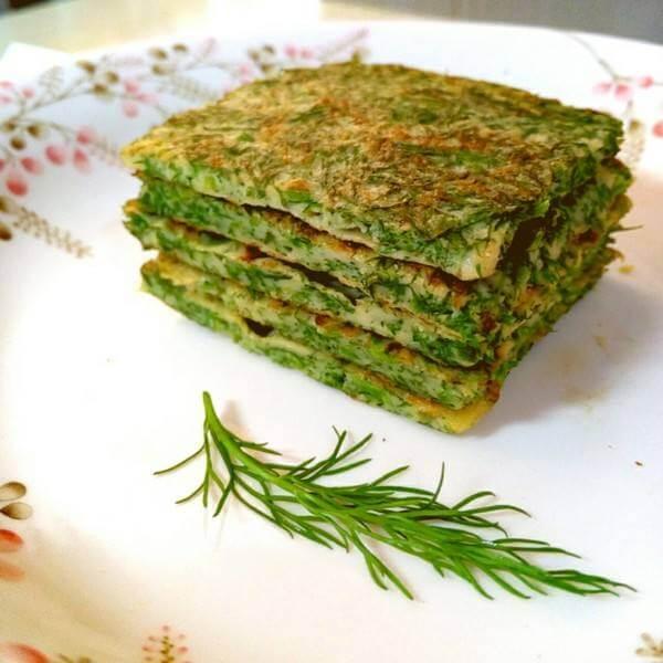 自制茴香菜饼