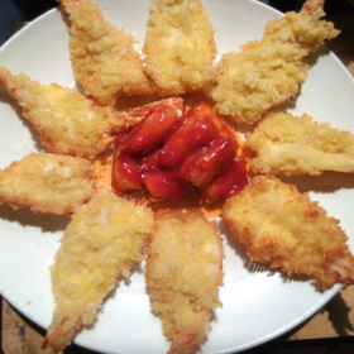香酥两吃大虾