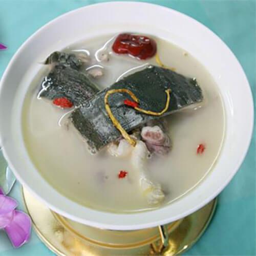 营养美味的清水炖甲鱼