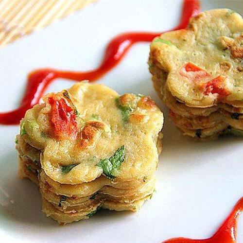 菠菜马铃薯煎蛋饼